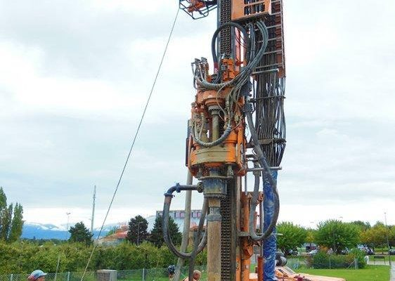 HBR 207 GT geothermal drill rig
